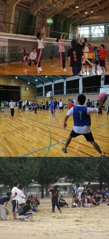本郷・射水両キャンパス合同の球技大会を開催しました