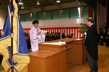 【本郷キャンパス】卒業証書・修了証書授与式が挙行されました