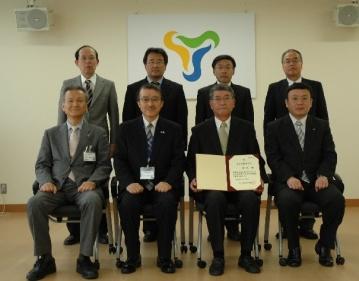 富山高等専門学校名誉教授称号記授与式を挙行
