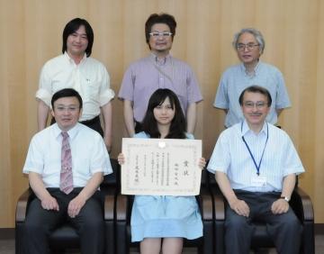 実用英語技能検定2級成績優秀者「文部科学大臣奨励賞」を受賞