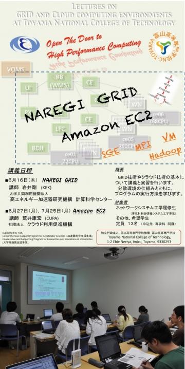クラウドコンピューティング講座を開催しました。(専攻科教育の高度化)