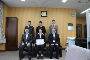 専攻科生が日本航海学会学生講演会において優秀論文賞を受賞しました