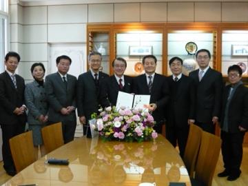 韓国慶煕大学と国際学術交流協定締結