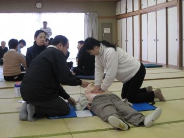 本郷キャンパスで救命救急講習会を開催しました