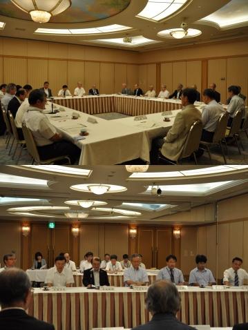 平成24年度富山高等専門学校名誉教授懇談会を開催