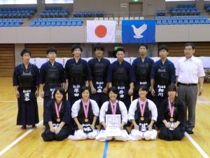 全国高専女子剣道大会で剣道部が3位入賞