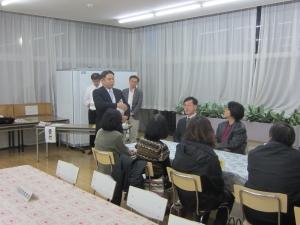 仰岳寮(本郷)で保護者検食会を行いました。
