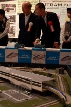 鉄道部企画・製作ジオラマ「鉄軌道王国とやま展」開催中