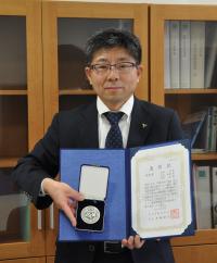 西田副校長が日本実験力学会技術賞を受賞しました