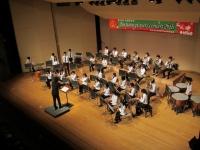 吹奏楽部(本郷)が第26回定期演奏会を行いました1