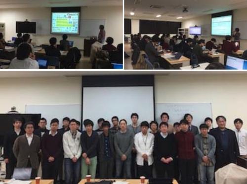 「富山PTSIM講習会/Geant4医学応用研究会」を開催しました