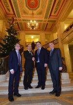 北アイルランド・SERCとEU教育支援プログラムについて協議