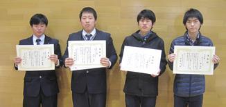平成27年度スポーツ賞・文化賞の表彰を行いました(本郷キャンパス)