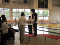 第51回全国高専体育大会水泳競技において優秀な成績をおさめました!