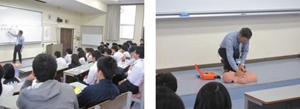 AED(自動体外式除細動器)取扱説明会を実施しました。(本郷キャンパス)