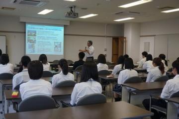 熱中症対策講座を行いました。(射水キャンパス)