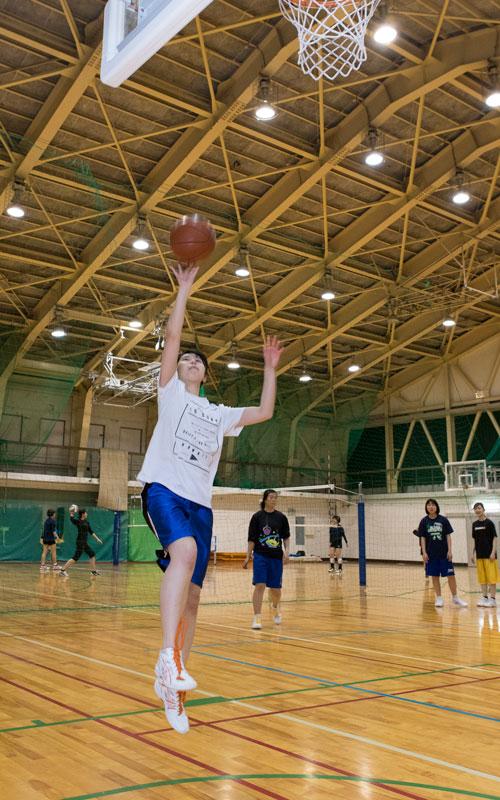 女子バスケットボール部(射水)