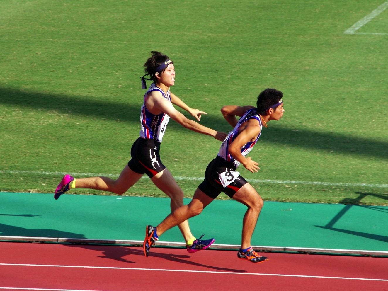 全国高専大会陸上競技で男女総合優勝しました。(射水キャンパス)