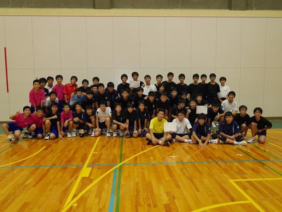 第2回 富山高専杯 中学生(男子)バレーボール練習会を開催しました。