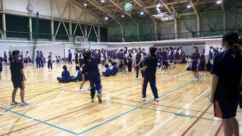 合同球技大会を実施しました。