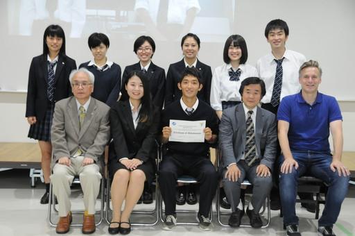 合同英語プレゼンテーションコンテストが開催されました。