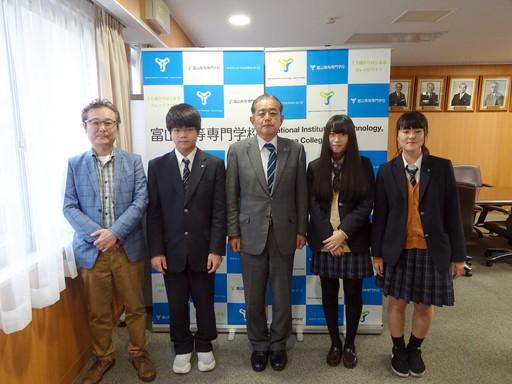 第二十九回富山県高等学校将棋選手権大会で本校学生が受賞しました。