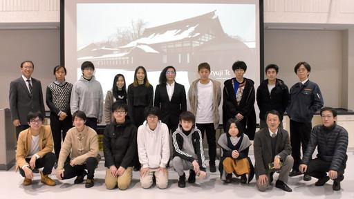 タイ・キングモンクット工科大学短期留学生が研究プログラムを修了しました。