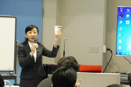 日本弁理士会による知財授業を実施しました。
