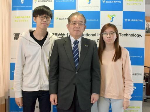 シンガポール・ナンヤンポリテクニックからの短期留学生を受け入れました。