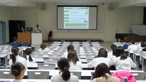 熱中症対策講座を行いました。