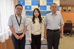 本校学生が国際学会において学会賞を受賞しました。