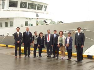 JICA課題別研修で中央アジア諸国の大学等関係者が本校を訪問しました。
