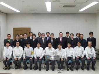 令和元年度第3回企業訪問を実施しました。