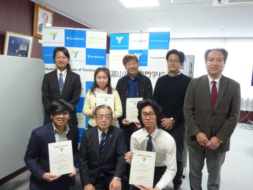 シンガポール・テマセクポリテクニックの短期留学生が研究プログラムを修了しました。