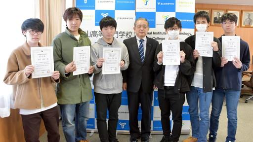 機械システム工学科学生が「機械設計技術者3級試験」に合格しました。