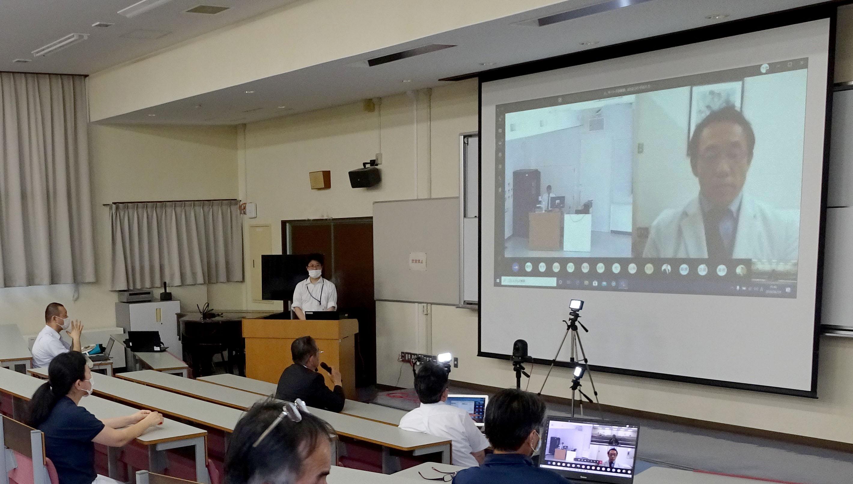 感染症対策に関するFD研修会を開催しました。