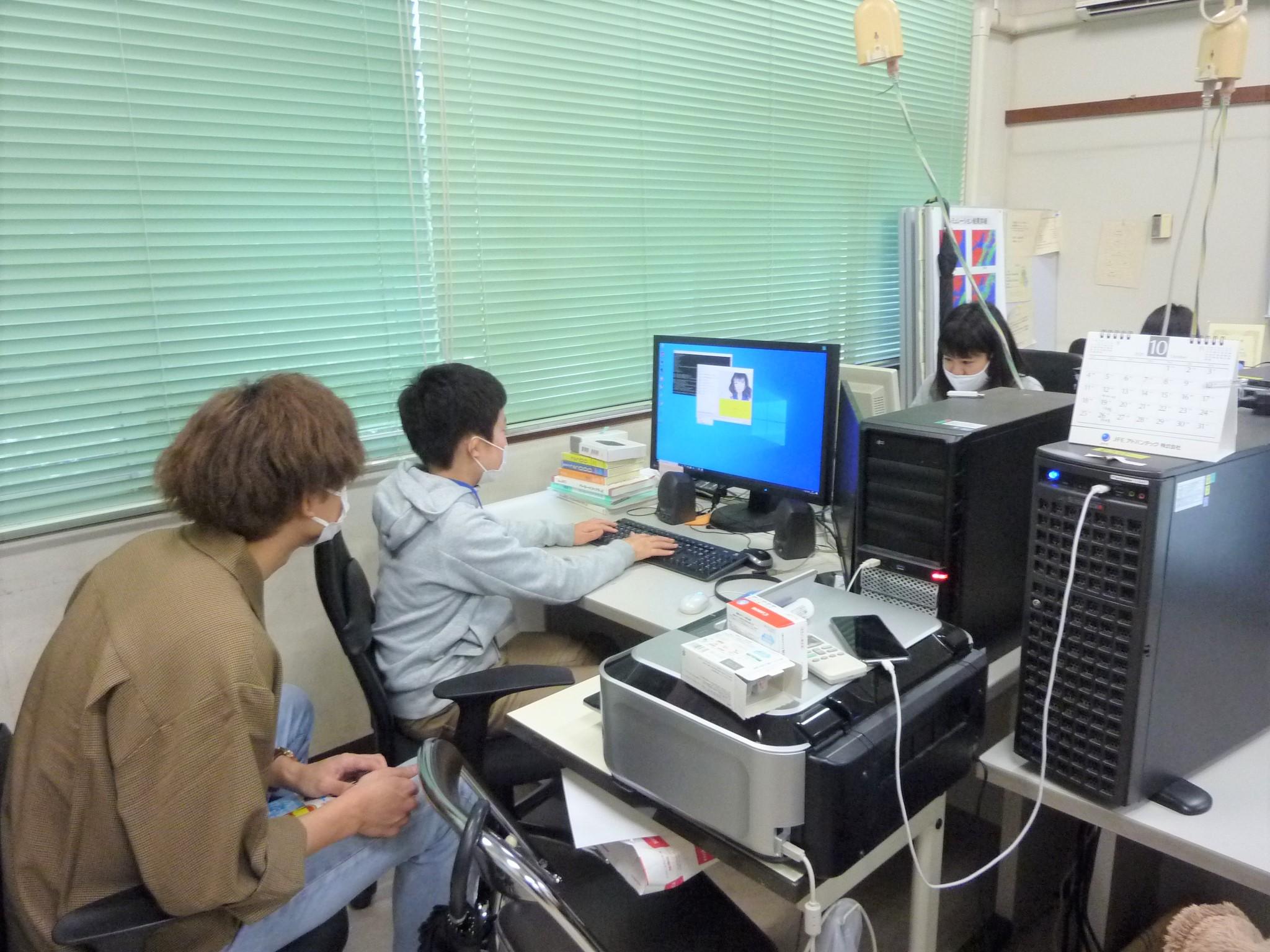 富山高専ジュニアドクター育成塾講座「海洋科学実習②」を実施しました。