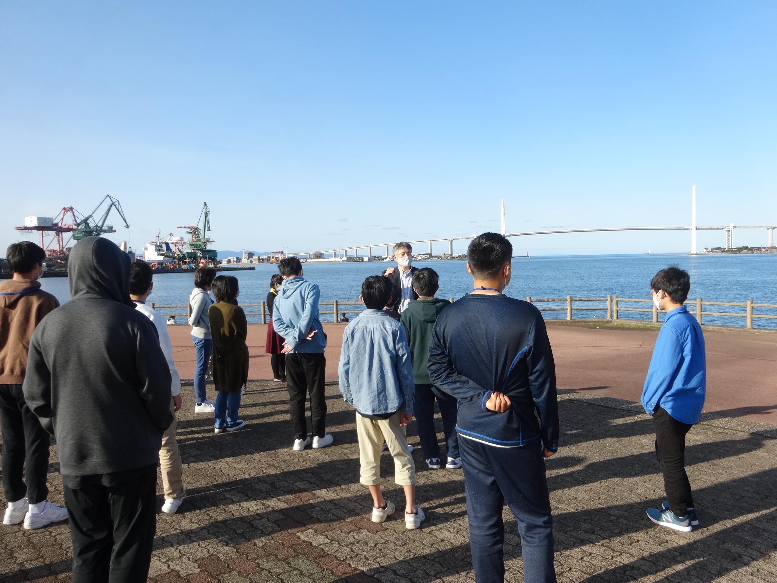 富山高専ジュニアドクター育成塾講座第6回「海洋科学実習③」を実施しました。