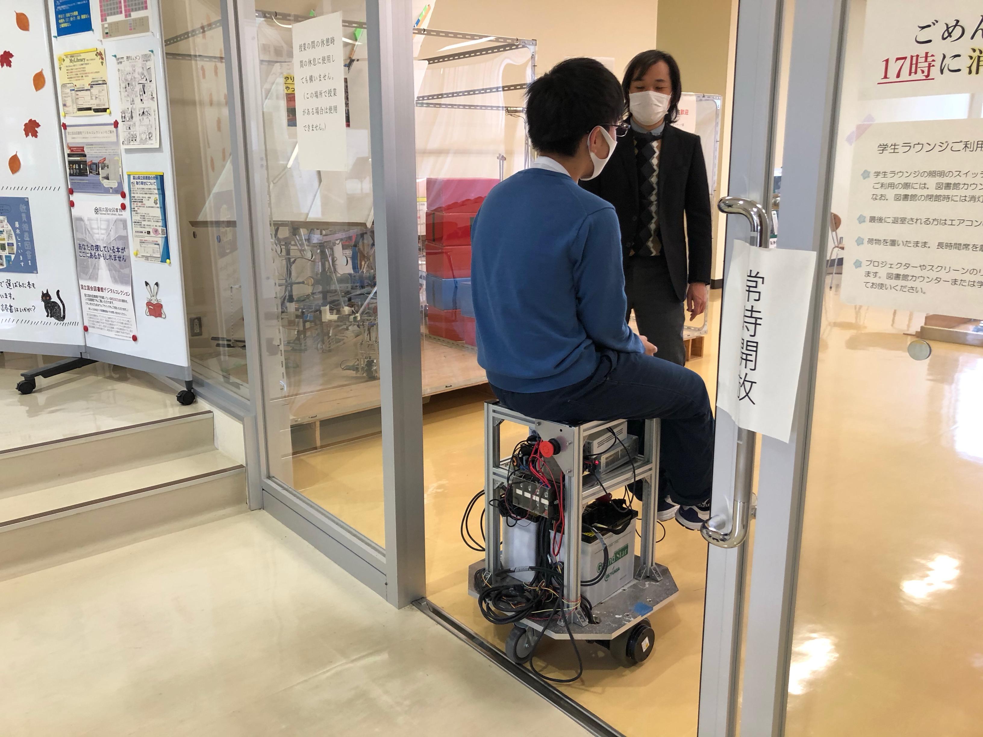 富山高専ジュニアドクター育成塾講座第7回「ロボットプログラミング①・機械システム工学科紹介」を実施しました。