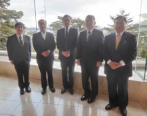 同窓会北斗会東北支部を訪問しました。