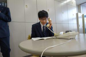 学生会長選挙を行いました。