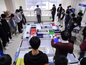富山高専ジュニアドクター育成塾講座第9回「ロボットプログラミング実習③」を実施しました。
