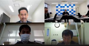 第3ブロック産学連携事務担当者スキルアップ研修(オンライン)が開催されました。