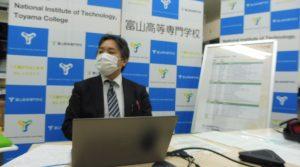 富山高専ジュニアドクター育成塾 第11回「学習成果発表会」を実施しました。