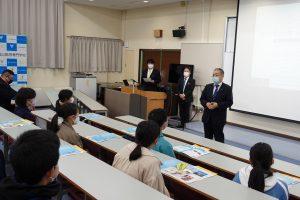 富山高専ジュニアドクター育成塾 第2段階第1回・開講式を実施しました。