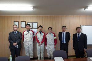 本校教職員が株式会社新来島豊橋造船を訪問しました。