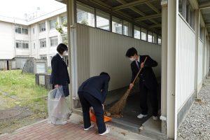 第1回環境美化活動を実施しました。