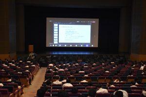 「令和3年度富山高等専門学校特別講演会」を開催しました。