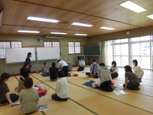 救急救命講習会を開催しました。