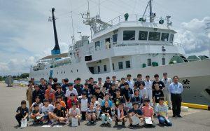 富山高専ジュニアドクター育成塾講座第2回「若潮丸乗船実習」を実施しました。